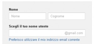 google-account-nome